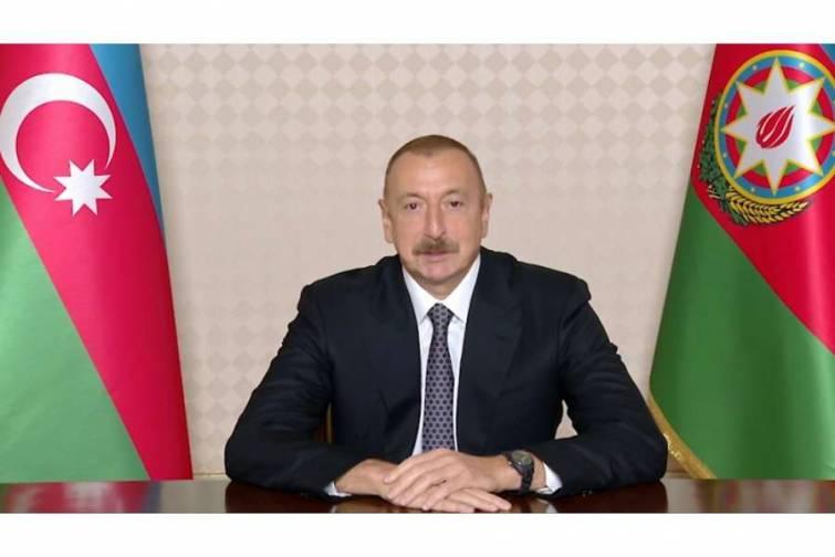 Prezident İlham Əliyev: Əgər beynəlxalq ictimaiyyət ağılsız diktatoru dayandıra bilmirsə, Azərbaycan onları dayandıracaq