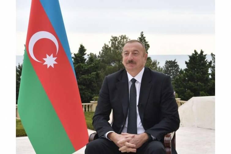 """Prezident İlham Əliyevin """"Əl-Cəzirə"""" televiziya kanalına müsahibəsi"""