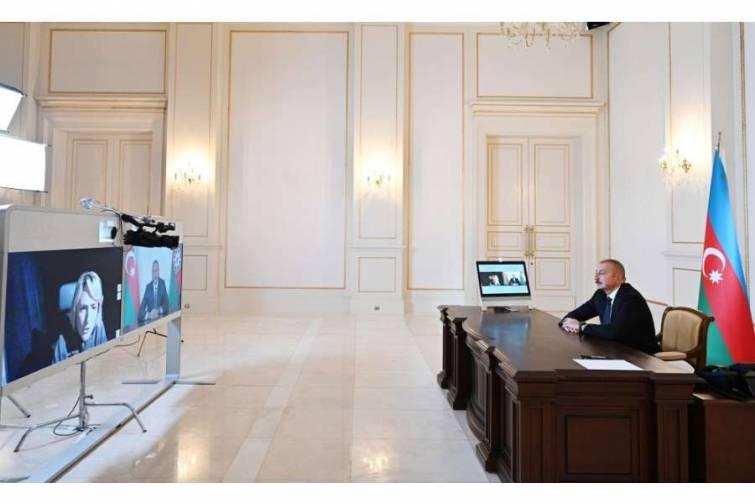 """Azərbaycan Prezidenti İlham Əliyevin """"Sky News"""" televiziya kanalına müsahibəsi"""